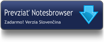 Download Notesbrower Slovak